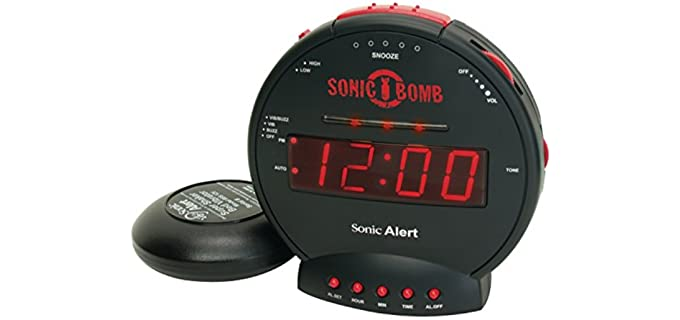 Sonic Alert SBB500SS - Alarm Clock for Seniors