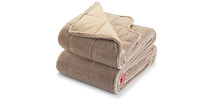 Sunbeam Extra Warm - Weighted Blanket for Elderly
