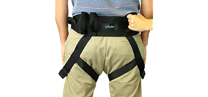 Vive  - Gait Belt for Seniors for Lift and Transfer