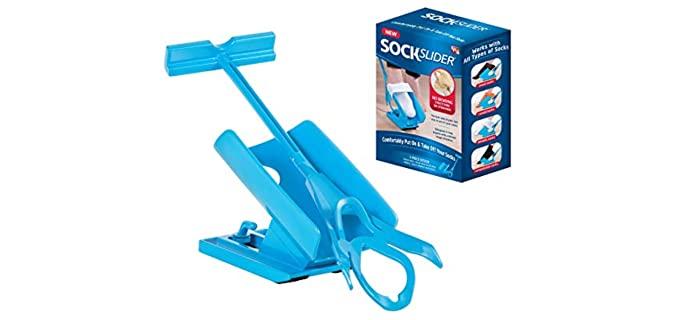 Allstar Innovations Sock Slider - Sock Aid for the Elderly