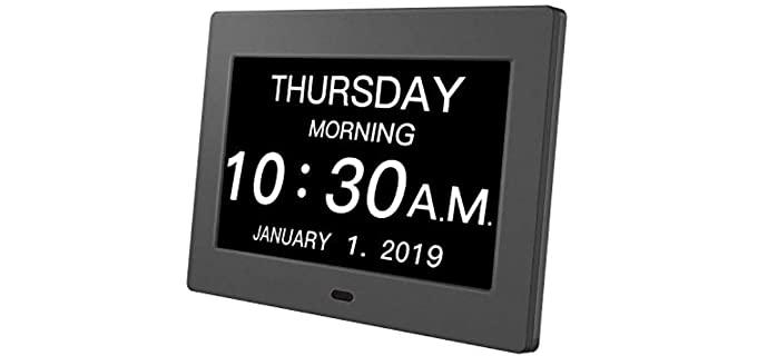 Pipishell Premium - Calendar Clock for the Seniors