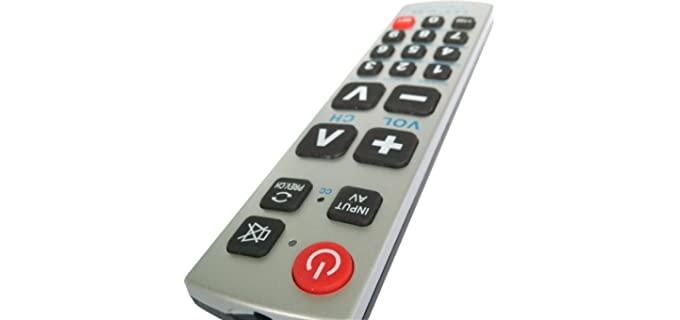 Gmatrix Control - Universal Remote for the Elderly