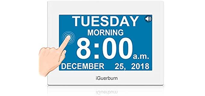 iGuerburn Talking - Calendar Clock for the Elderly