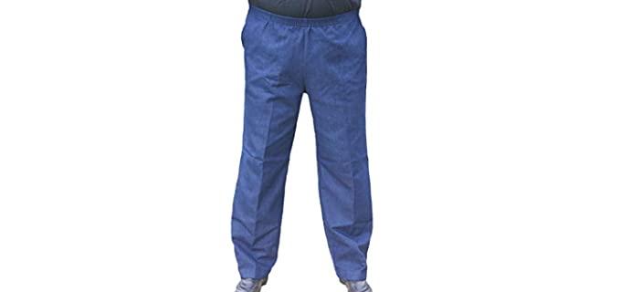 Elastic Waist Pants for the Elderly