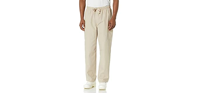 Cherokee Cargo - Elastic Waist Pants for Elderly Persons