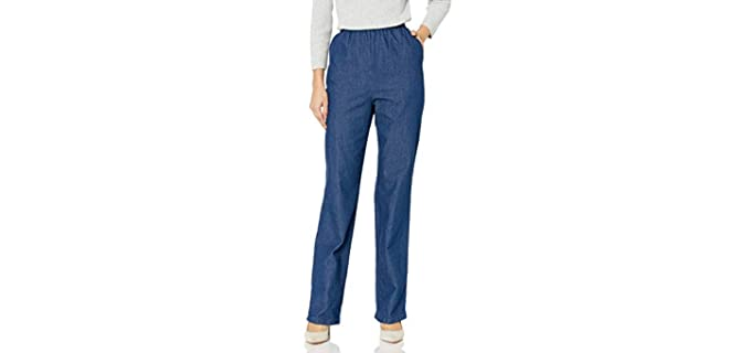 Chic Classic Collection - Elastic Waist Pants for Seniors