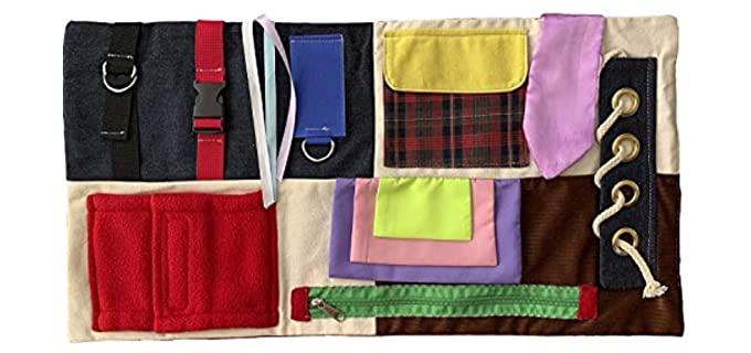 HappyActivity Dementia - Busy Blanket Pad for the Elderly