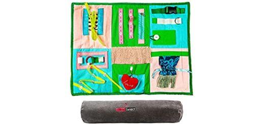 Fidget Blanket for the Elderly