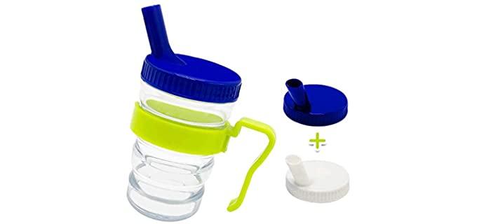 Kirimon Flow Control - Sippy Cups for Seniors