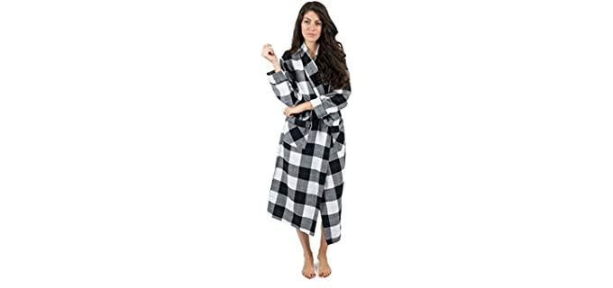 Leveret Robe - Flannel Nightgown for Seniors