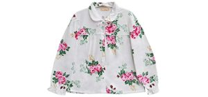 La Cera Plus Size - Elderly Lady Bed Jacket