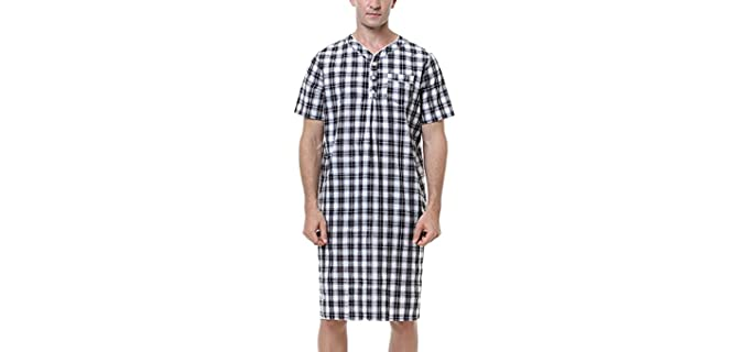 Sykooria Nightgown - Flannel Nightgown