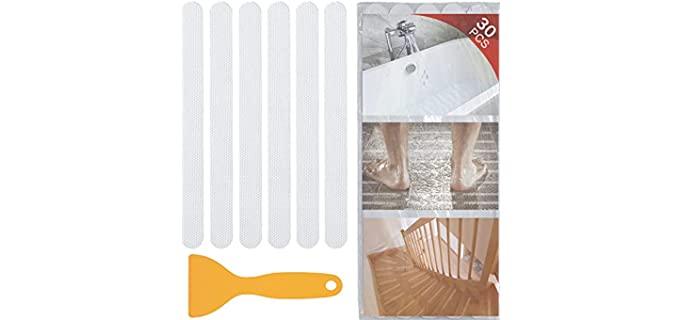 V-Top 30 PCS - Shower and Bath Tub Non-Slip Stickers