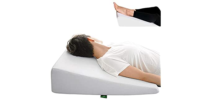 Cushy Form Sleeping - Wedge Positioning Pillow for the Elderly